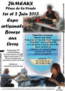 Affiche exposition Jumeaux (63570) 1 et 2 juin 2013