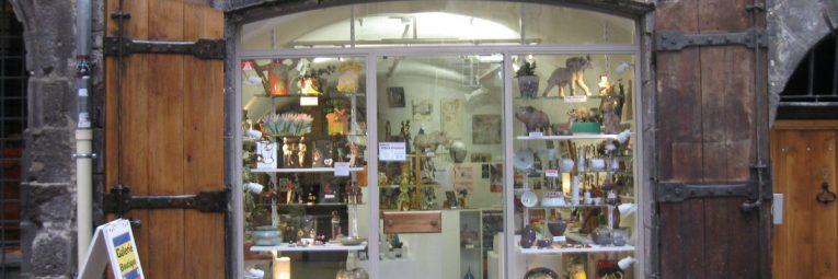 Galerie Argile Créations rue des Chaussetiers à Clermont-Ferrand