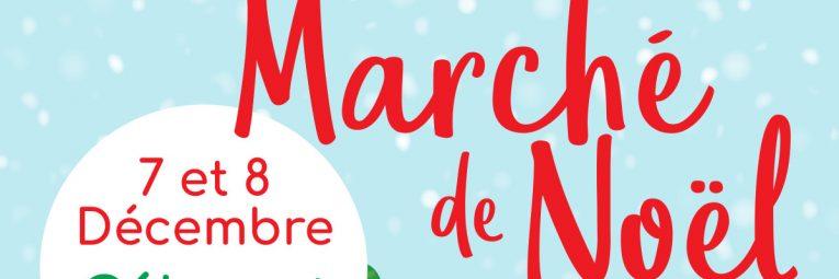 Flyer du marché de Noël de Cébazat 2019