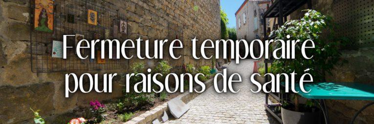 L'atelier L'île o Pierres à Montpeyroux est fermé au public pour une durée indéterminée