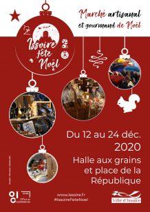 Affiche des animations de Noël 2020 à Issoire
